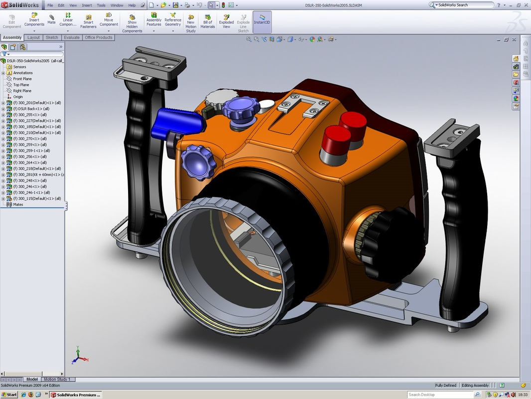 Computer Aided Design (CAD) subject of university